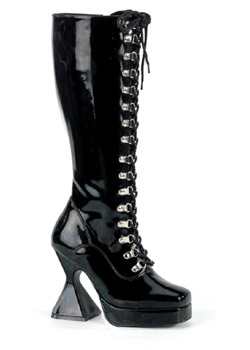 KINK Black Patent Boots