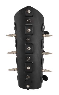 Large Spike Rivet Gauntlet