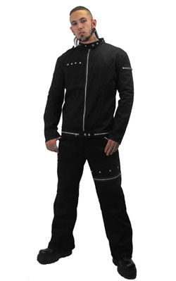 Lothur Mens Pyramid Stud Jacket