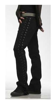 Lace-up Rocker Fit Pants