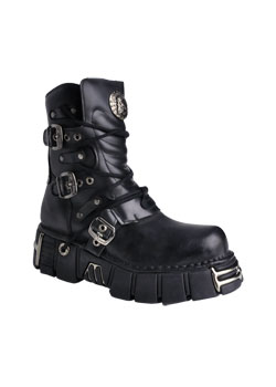 New Rock M1010-S1 Leather Boots