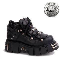 New Rock M106-S1 Platform Shoes