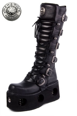 New Rock M272-S2 Platform Boots