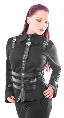 Military Bondage Blouse