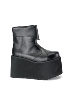 MONSTER-02 Black Platform Boots