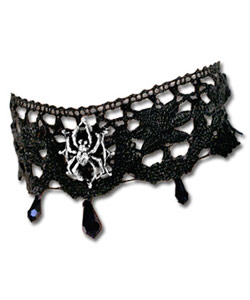 Aracnathea Lace Choker