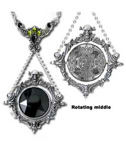 The Obsidian Mirror Pendant