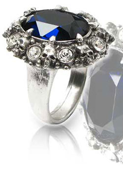 A Dark Engagement Ring