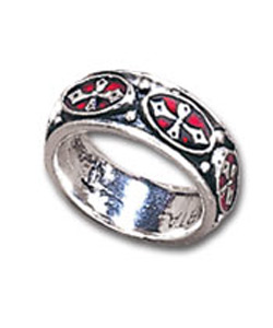 Pugin Cross Ring