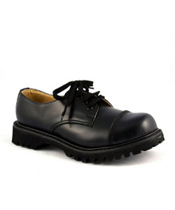 ROCKY-03 Black Steel-Toe Leather