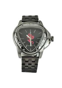 Stainless Steel Dragon Red Watch