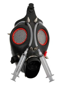 Cyber Syringe Gas Mask