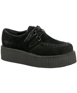V-Creeper-502s Black Suede Creeper