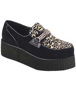 V-CREEPER-509S Leopard Creeper Shoes