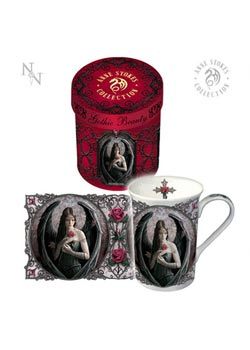 Angel Rose Mug - Anne Stokes