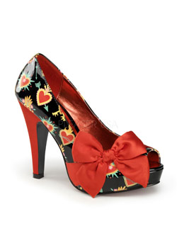 BETTIE-13 Sacred Hearts Shoes