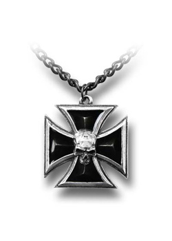 Black Knights Cross Pendant