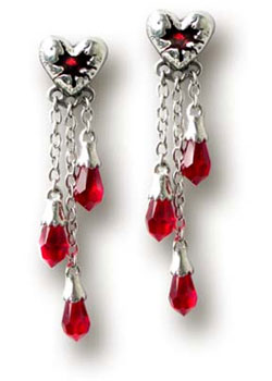Bleeding Heart Earings