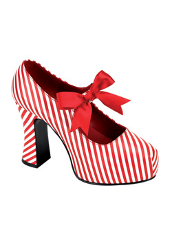 CANDYCANE-48 Candy Stripe Shoes