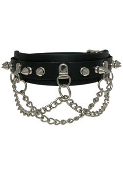 Choker Chain Spykes 14CCH