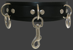 13HC Leather Choker