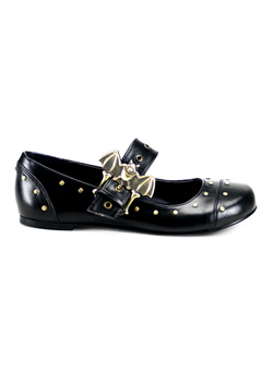 DAISY-02 Bat Buckle Flats