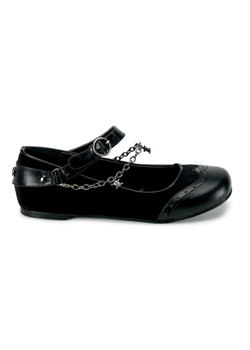 DAISY-07 Skull Chain Flats