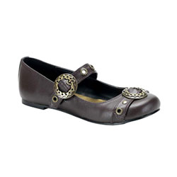 DAISY-09 Brown Steam Shoes