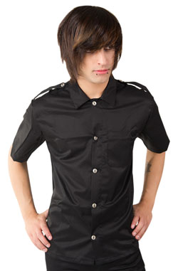 Army Shirt Denim Black