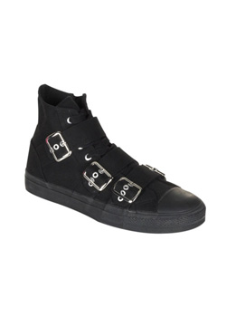 DEVIANT-109 Black Sneaker Boots