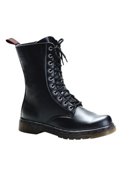 DISORDER-200 Black Military Boots