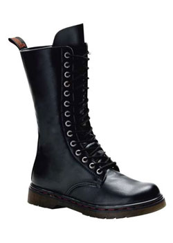 DISORDER-300 Black Combat Boots