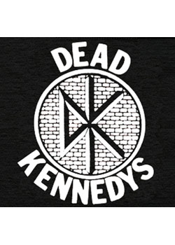 Dead Kennedys Large Logo Patch