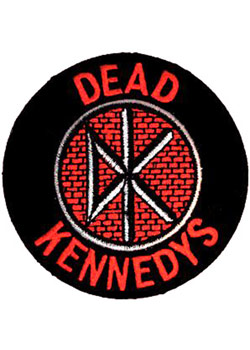 Dead Kennedys Logo Patch