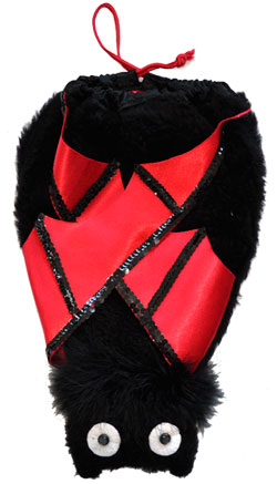 Fuzzy Bat Pal Bag Multi Colored