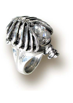 Gem Cage Ring