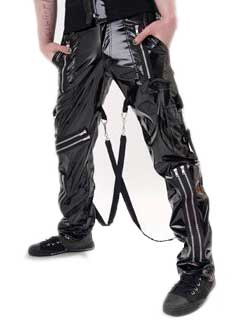 Gloss bondage trousers