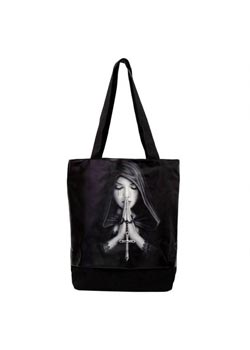 Gothic Prayer Tote Bag - Anne Stokes