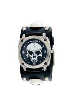 Heavy Duty Skull with Stud Watch