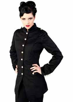 Ladys Army Coat
