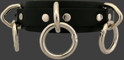 13CLR Leather Choker