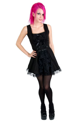 Lavinia Bow Mini Dress