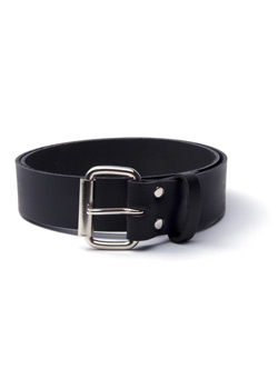 Plain Leather Belt 76B