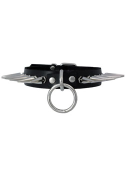Large Spike Sub Collar Choker