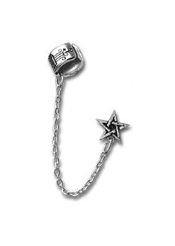 Pentagram Cuff Stud