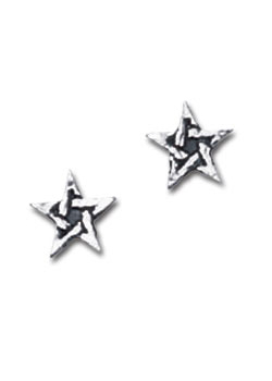 Pentagram Studs (pair)