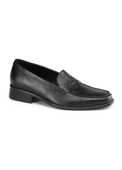 POPSTAR-09 Black Loafer Shoes