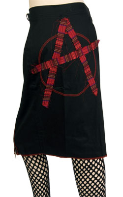 Razor Buckle Penscil Skirt