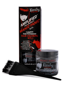 Emily the Strange Sabbath Black Dye Kit