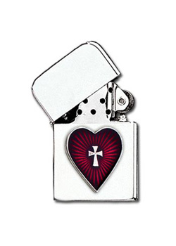 Sacred Heart Lighter